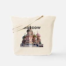 Moscow_12X12_v4_Black Tote Bag