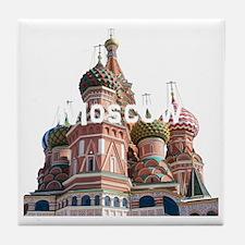 Moscow_10x10_v6_White Tile Coaster