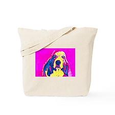 Basset Hound Love Me Love My Basset Hound Tote Bag