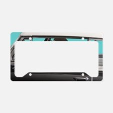 Yellow Labrador Driving Class License Plate Holder