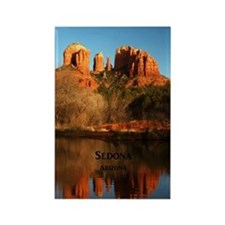 Sedona_34x44_TwinDuvet_CathedralR Rectangle Magnet