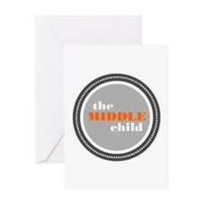 The Middle Child Greeting Card