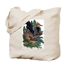 Birds of the Redwoods Tote Bag (double-sided)