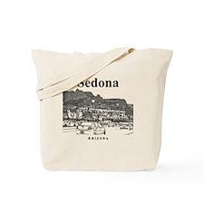 Sedona_12X12_MainStreet_Black Tote Bag