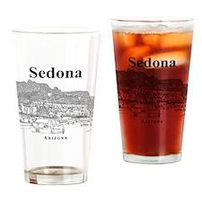 Sedona_12X12_MainStreet_Black Drinking Glass