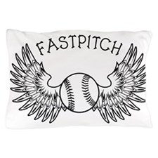 WINGED BALL FASTPITCH Pillow Case