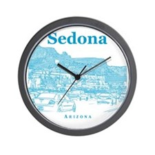 Sedona_10x10_v1_MainStreet_Blue Wall Clock