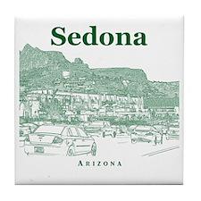 Sedona_10x10_v1_MainStreet_Green Tile Coaster