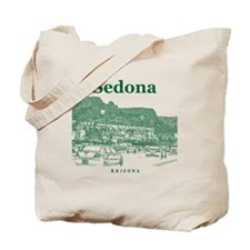 Sedona_10x10_v1_MainStreet_Green Tote Bag