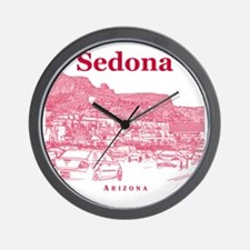 Sedona_10x10_v1_MainStreet_Red Wall Clock
