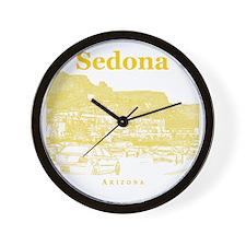 Sedona_10x10_v1_MainStreet_Yellow Wall Clock
