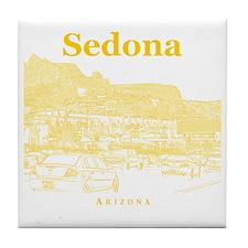Sedona_10x10_v1_MainStreet_Yellow Tile Coaster
