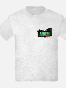N Andrews Av South, Bronx, NYC  T-Shirt