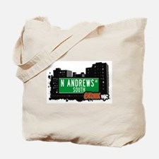 N Andrews Av South, Bronx, NYC  Tote Bag