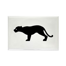 Cougar - Puma Rectangle Magnet