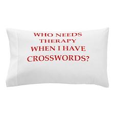 CROSSWORDS Pillow Case