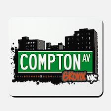 Compton Av, Bronx, NYC  Mousepad