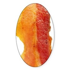 Close-up Photo of a Strip of Bacon Decal