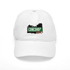 Concord Av, Bronx, NYC Baseball Cap