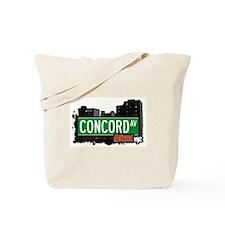 Concord Av, Bronx, NYC  Tote Bag