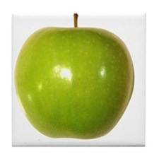 Granny Smith Green Apple Tile Coaster