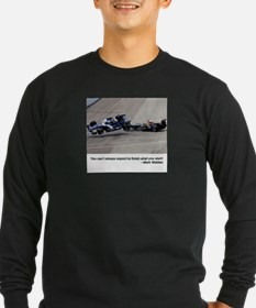 3-mark webber crash Long Sleeve T-Shirt