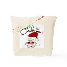 Santa Baby 1st Christmas 2013 Tote Bag