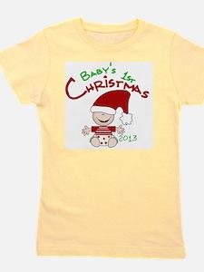 Santa Baby 1st Christmas 2013 Girl's Tee