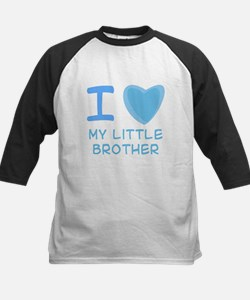 Blue I Heart (Love) My Little Brother Tee
