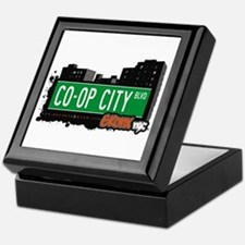 Co-Op City Blvd, Bronx, NYC  Keepsake Box