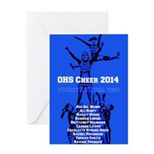 OHS Cheer 2014 Greeting Cards