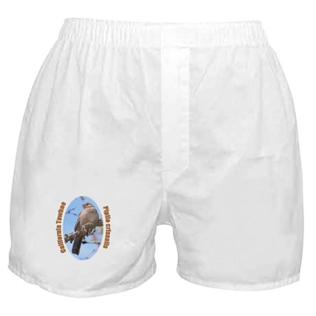 California Towhee Boxer Shorts