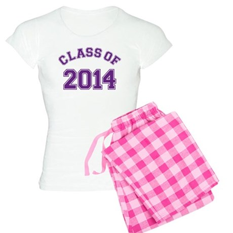 Class Of 2014 Purple Pajamas