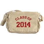 Class Of 2014 Red Messenger Bag