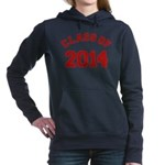 Class Of 2014 Red Hooded Sweatshirt