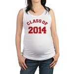 Class Of 2014 Red Maternity Tank Top