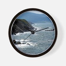 St Lawrence Bay Coast of Cape Breton Wall Clock