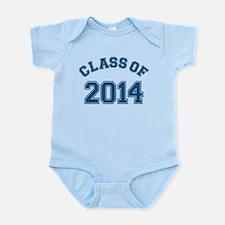 Class Of 2014 Blue Body Suit