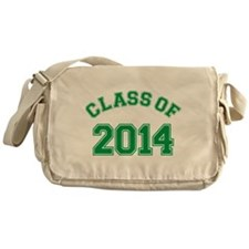 Class Of 2014 Green Messenger Bag