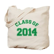 Class Of 2014 Green Tote Bag