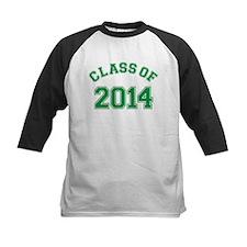 Class Of 2014 Green Baseball Jersey