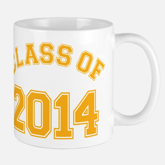 Class Of 2014 Yellow Mugs