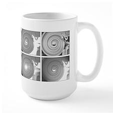 Black and White Column Capital Photo Mug