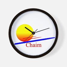 Chaim Wall Clock