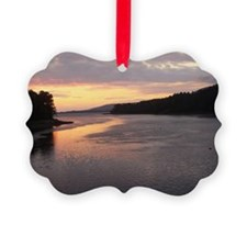 Sunset from Mabou Harbor Ornament