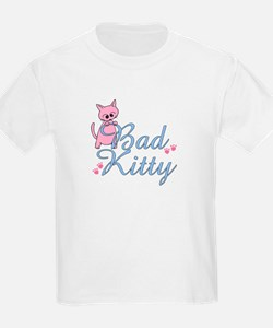 Bad Kitty Black T-Shirt