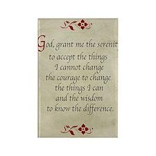 Serenity Prayer-Vintage Rectangle Magnet