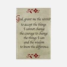 Serenity Prayer-Vintage Rectangle Magnet Magnets