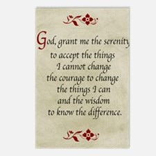 Serenity Prayer-Vintage Postcards (Package of 8)
