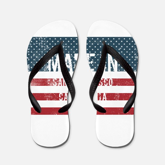 Made in San Francisco, California Flip Flops